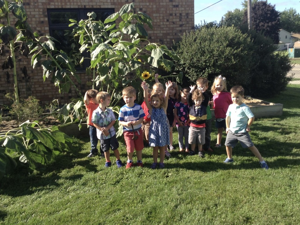 Peace Preschool is in full swing for the 2016-2017 academic year with 85 kids! Click for info.